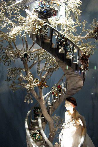 Nyc Bergdorf Goodman S 2008 Holiday Window Display Calendar Girls