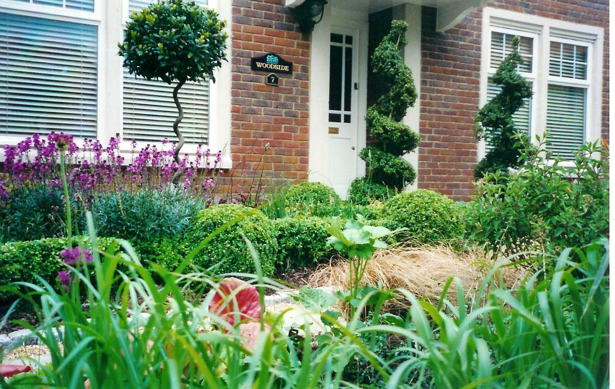 Large Garden Ideas Uk Front Design