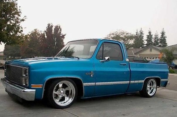 Lowered 1985 Chevy Silverado C10 Swb With Images Chevy Trucks