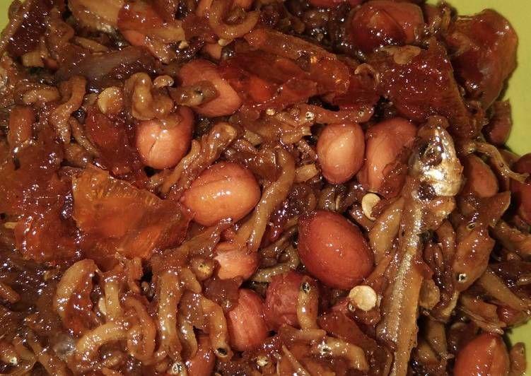 Sambal Teri Nasi Kacang Tanah Kacang Tanah Kacang Resep