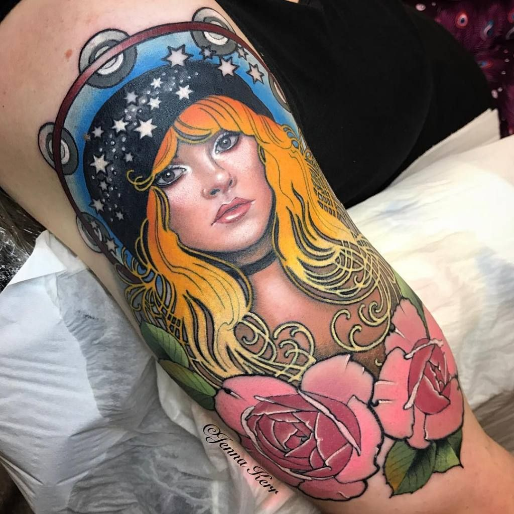 Pin by debi mendez on portrait tattoos stevie nicks