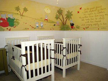 Babar Nursery I Want To Do This For Sa When We Move