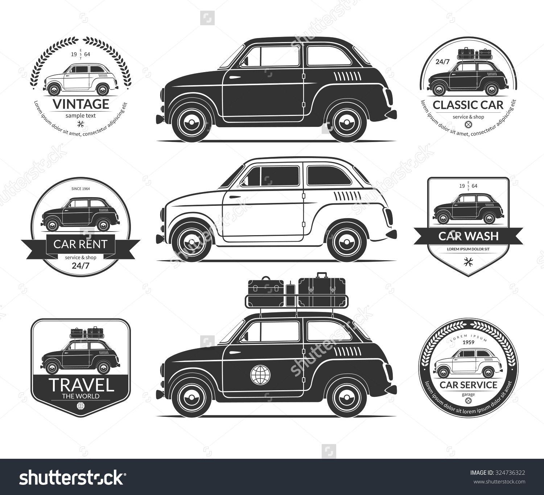 Pin by Andrea Monterrubio Pasapera on vintage car vector | Pinterest