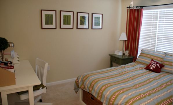 Bedroom And Study Area Woodlands Of College Station 4 Bedroom Apartments Floor Plans Home Decor