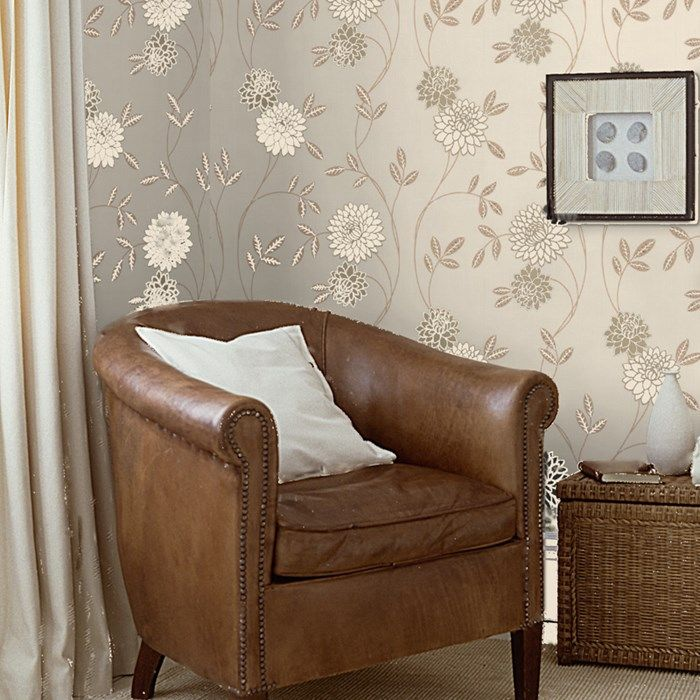 Shaan Neutral Wallpaper by Graham and Brown Neutral