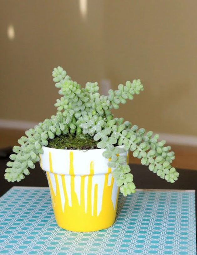 60 ideas para pintar y decorar macetas de barro o terracota | Barro ...