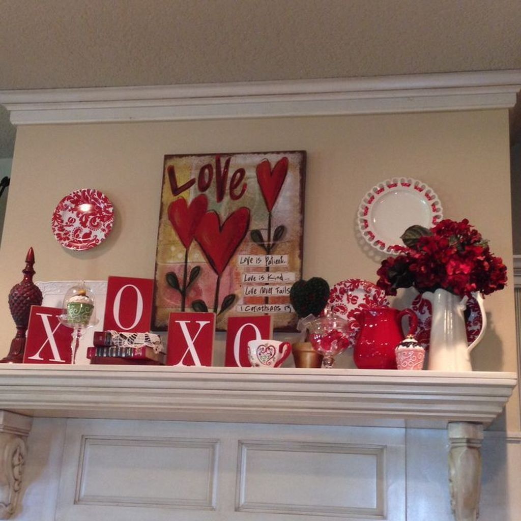 Gorgeous Valentine's Day Decorations For Special Moment #valentinesdaydecorations
