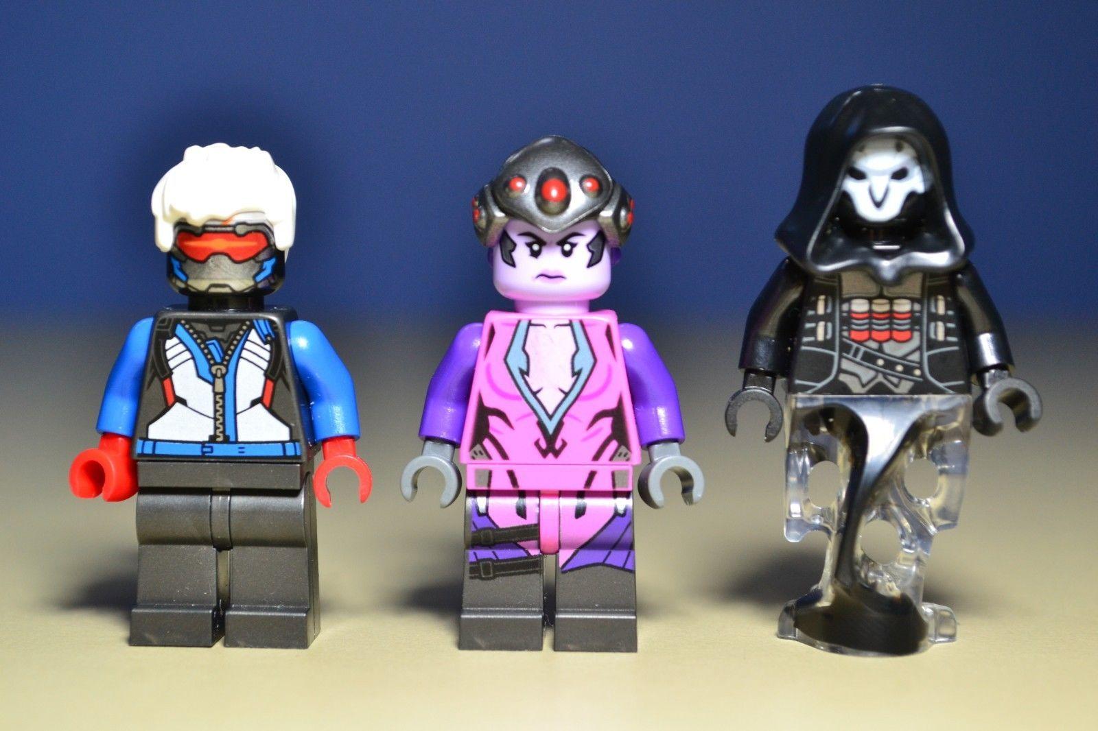 Lego 2019 Overwatch Soldier 76 Widowmaker and Reaper