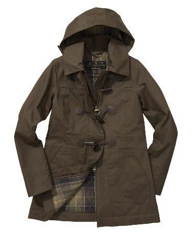 Barbour duffel coat