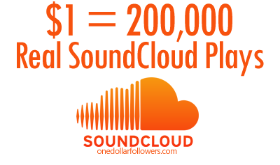 Buy 200,000 SoundCloud Plays For $1 | $1 Instagram Followers