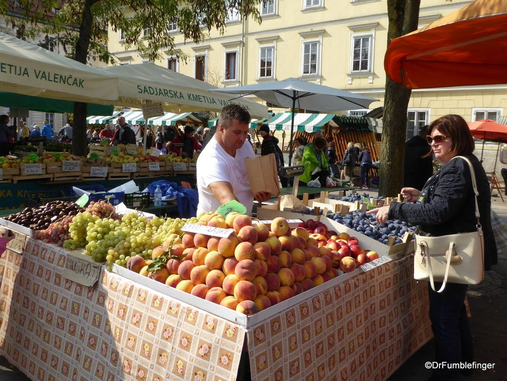 Central Market, Ljubljana. 1) The Produce Central market