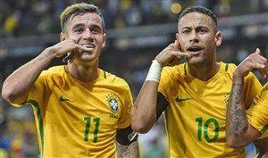 وقتی بازی در رئال مادرید رویای نیمار و کوتینیو بود Neymar Philippe Coutinho Barcelona