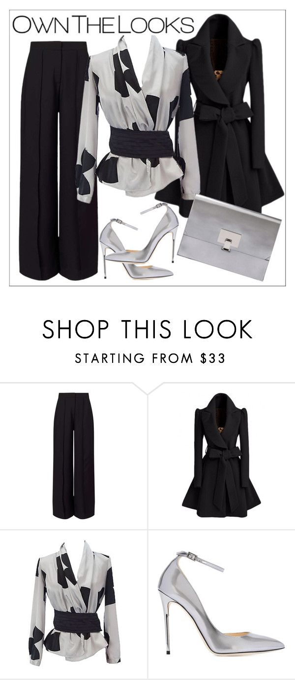 """Untitled #295"" by chanlee-luv ❤ liked on Polyvore featuring Miss Selfridge, Emporio Armani, Jimmy Choo and Proenza Schouler"