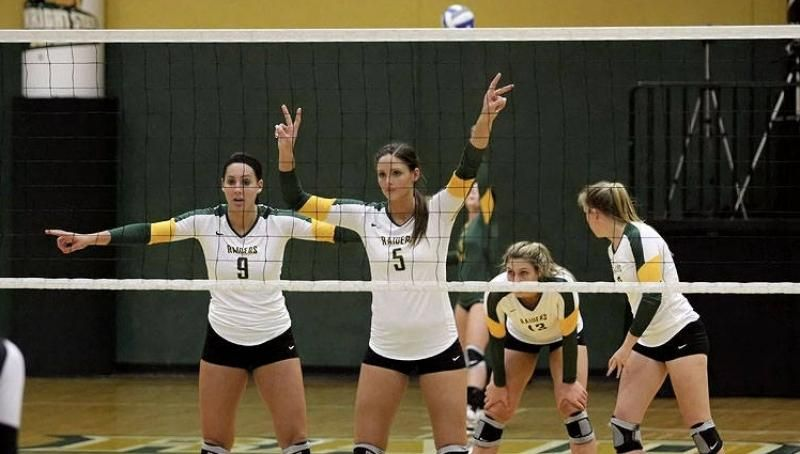 Volleyball Defeats Saint Peter S For First Win Volleyball Athlete Volleyball Team