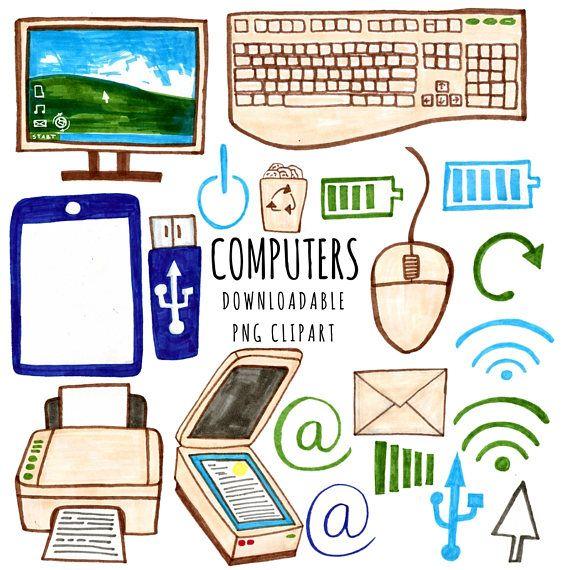 Computer Clipart Technology Clipart Geek Clipart Tech Clip Art Cute Disney Wallpaper Geek Stuff