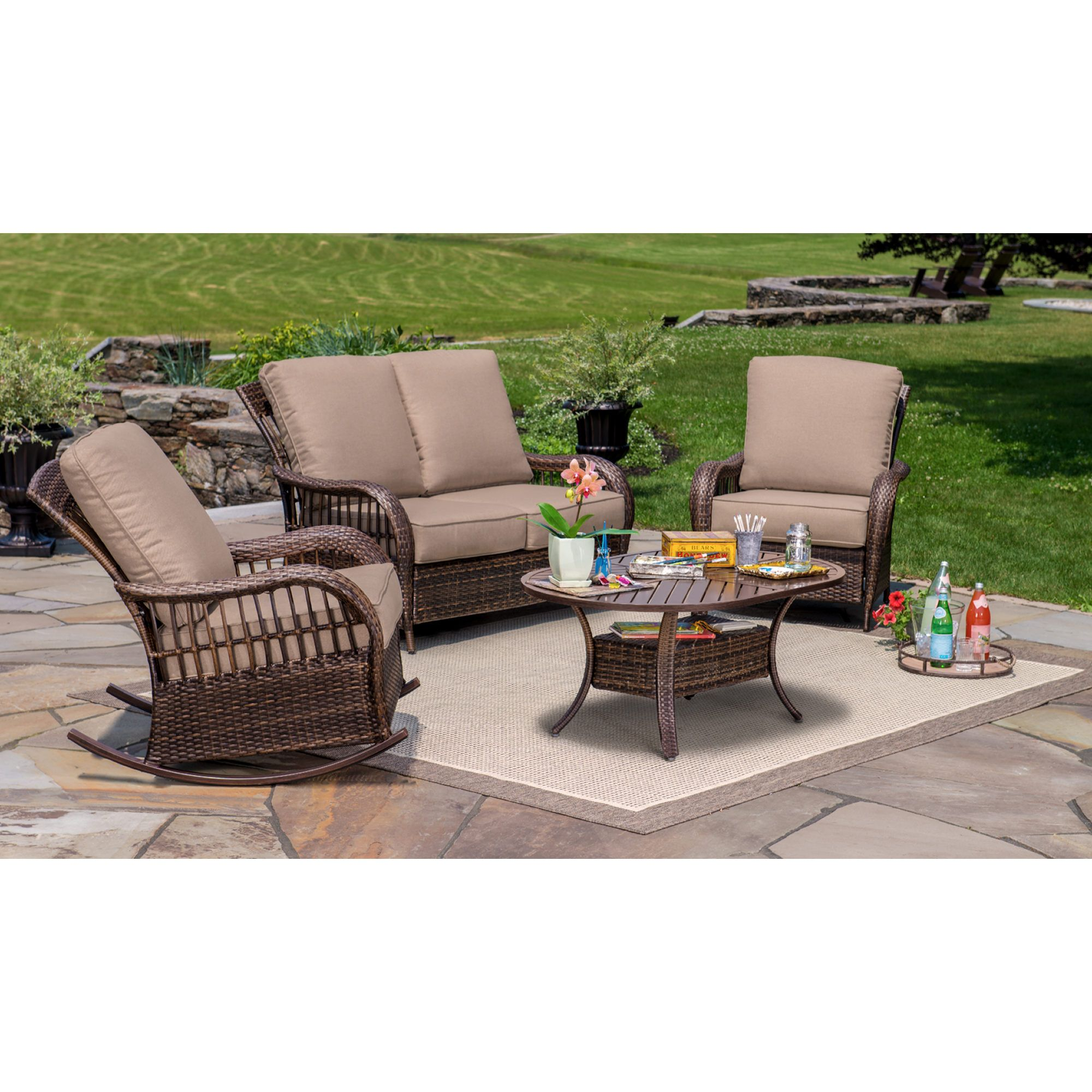 set pc club outdoor jensen berkley of patio calais pit wholesale best with fire furniture new bjs chat