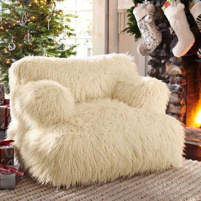 Fluffy Sit Canape Original Salon Adolescent Canape