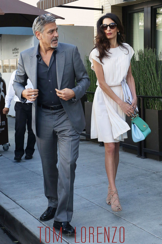 George,Clooney,Amal,Clooney,GOTS,Fashion,Street,Style,Tom
