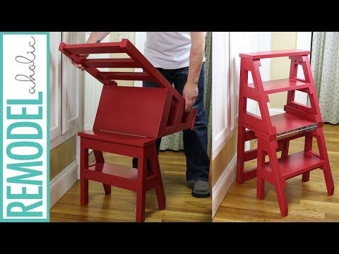 How To Build A Diy Ladder Chair Space Saving Multipurpose