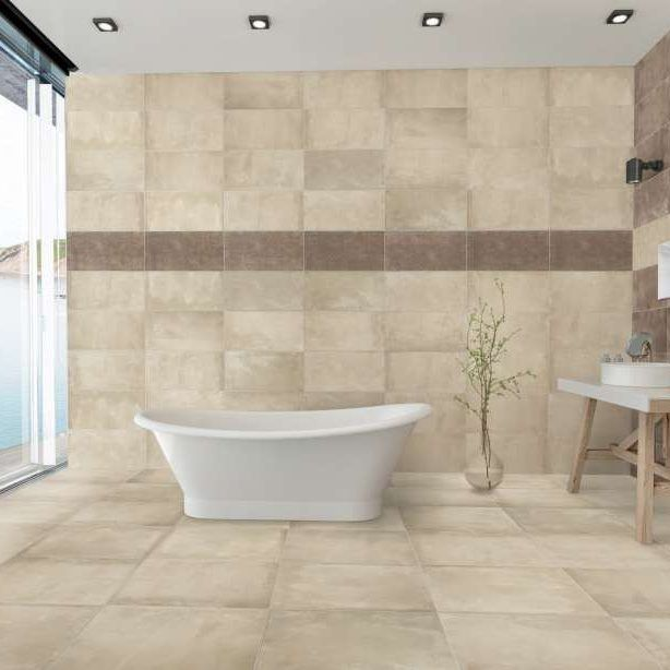 Icon Concrete Look Tiles From Abitarelaceramica Tradition With A Contemporary Twist Only At Bv Tile Stone Bathroom Tile Inspiration Wall Tiles Flooring
