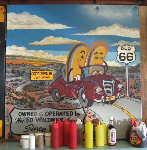 Cozy Dog Drive-In Springfield, IL by Neato Coolville, via Flickr