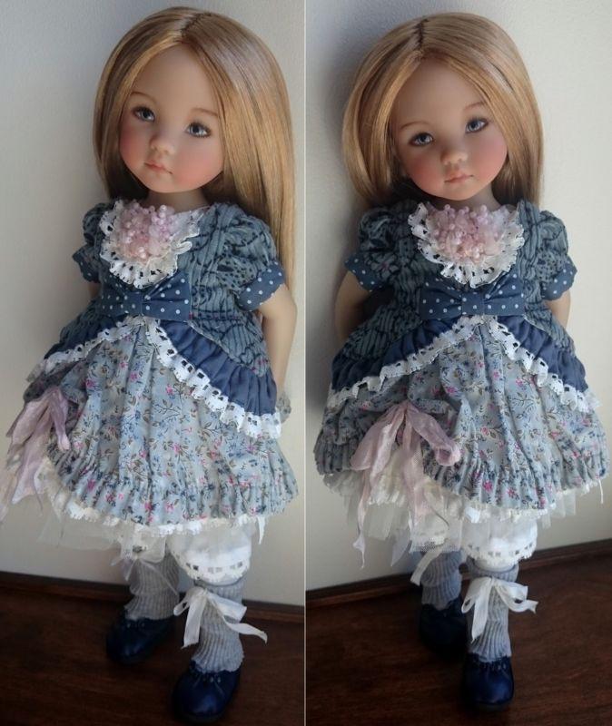 Conjunto Para Muñecas Por Dianna Effner Little Darling