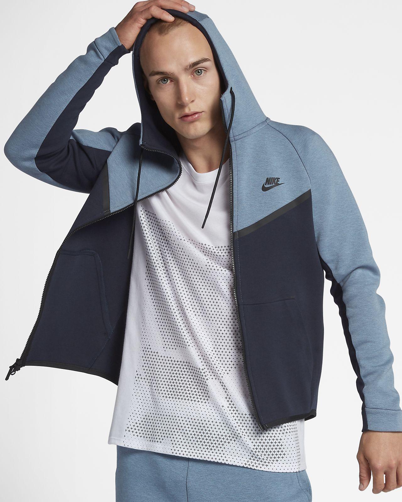 Nike Sportswear Tech Fleece Windrunner Men S Full Zip Hoodie Nike Tech Fleece Jacket Nike Tech Fleece Pants Nike Clothes Mens [ 1600 x 1280 Pixel ]