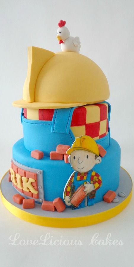 Superb Dsc02221 With Images Bob The Builder Cake Childrens Birthday Funny Birthday Cards Online Elaedamsfinfo