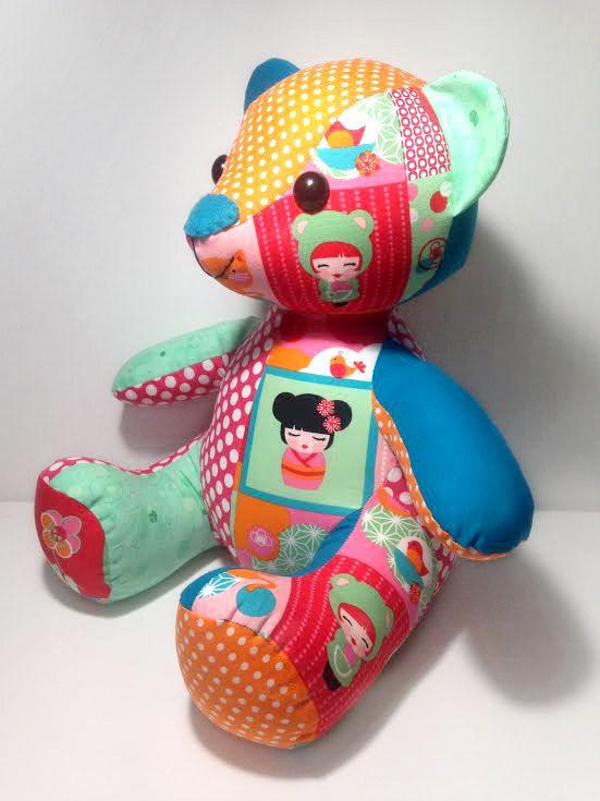Melody Memory Bear Keepsake Toy Instant Download Sewing Pattern Pdf