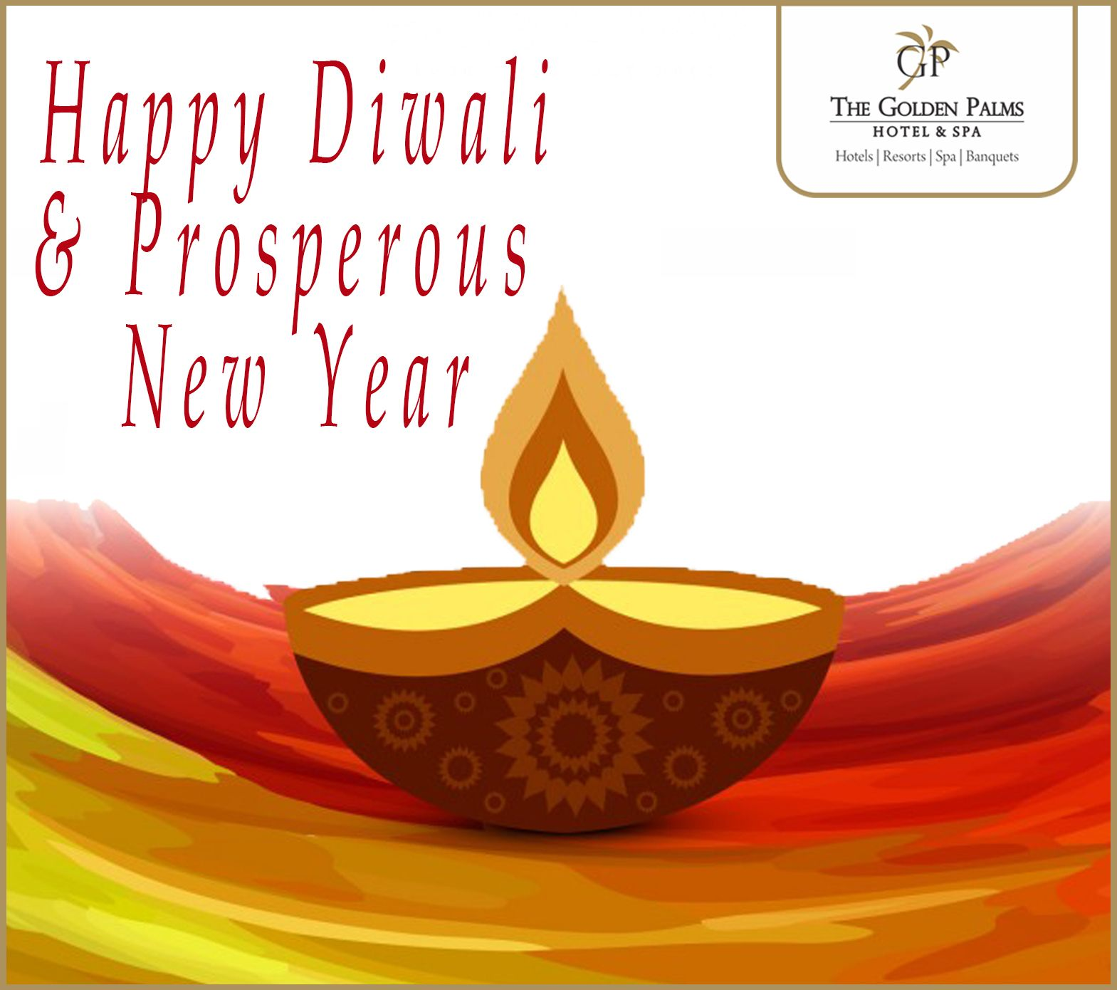 Golden Palms Hotel Spa Wishes You A Happy Diwali And Prosperous