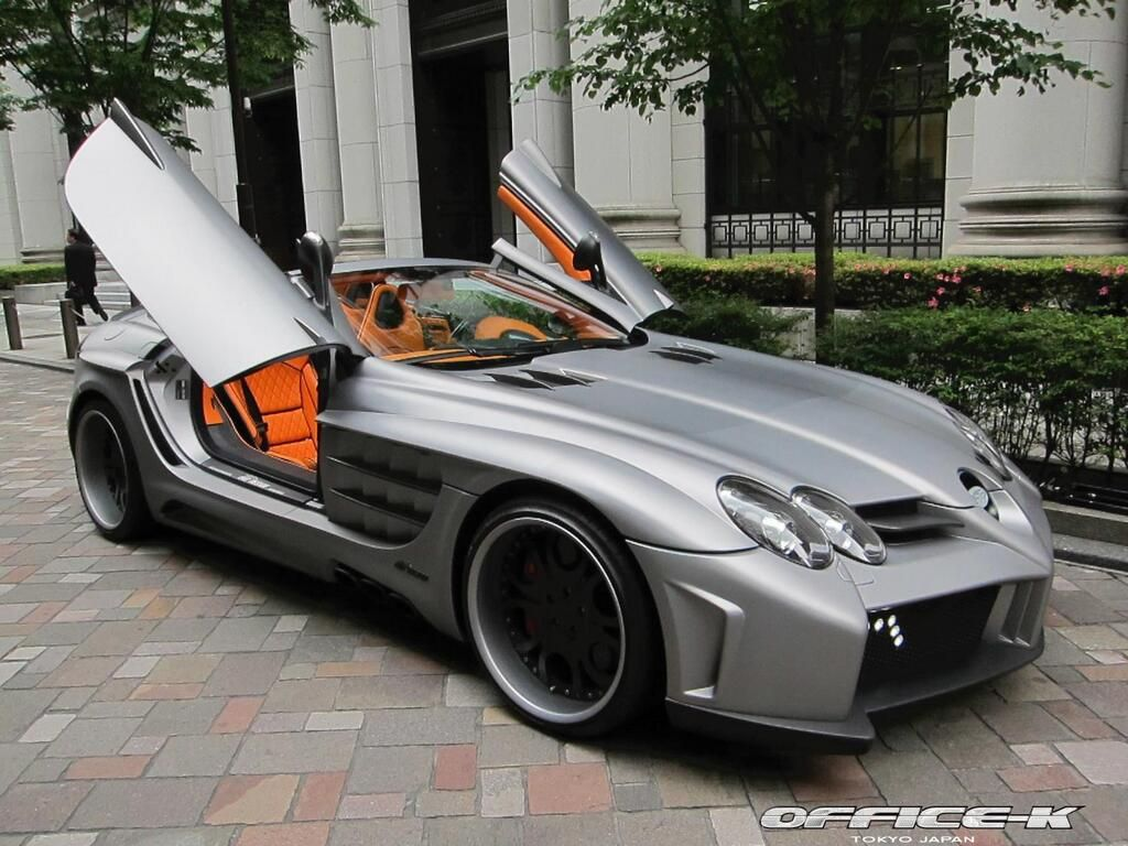 Fab Design Mercedes Benz Slr Mclaren Roadster Desire Is Fifty Shades Of Cray Cray Grey Orange And Black Interior 3 Slr Mclaren Mercedes Slr Mercedes