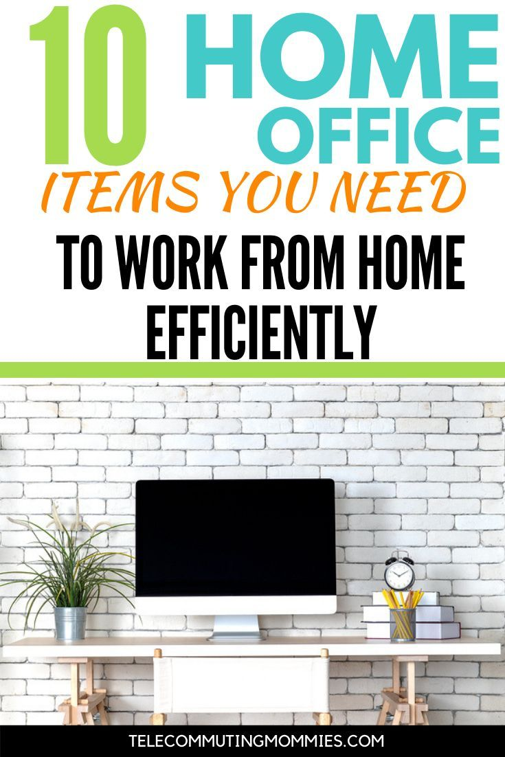 Efficient Home Office Must Haves: 10 Items You Need