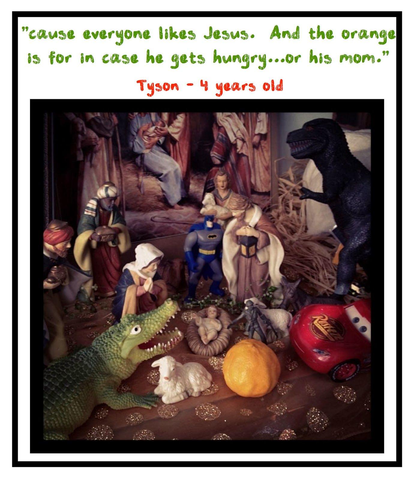 Everynativityneedatrexjpg Pixels Funny Stuff - Hipster nativity set reimagines the birth of jesus in 2016