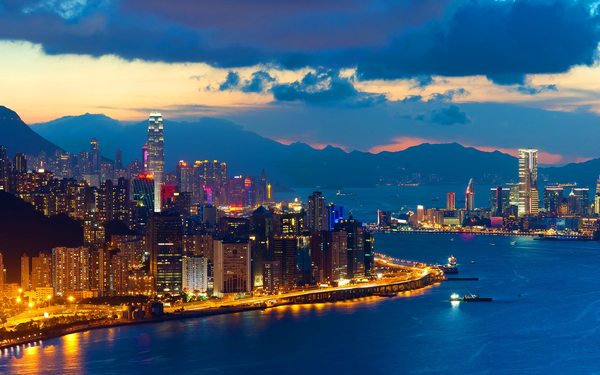 megacity hong kong 1 | Cool places to visit, Hong kong night ...