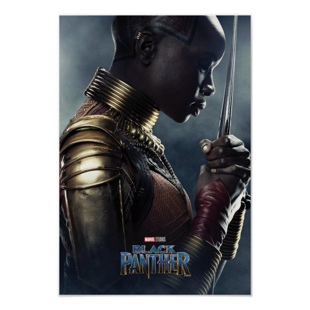 Black Panther | Okoye Character Poster