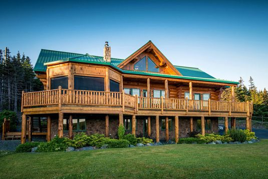 If we had a million dollars this is what we 39 d buy log for Cabins in newfoundland