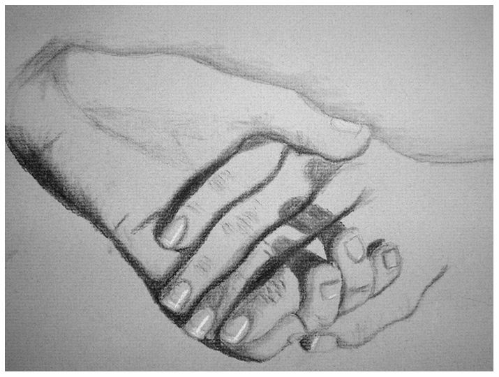 Line Drawing Holding Hands : Similiar god holding my hand drawing keywords the arts