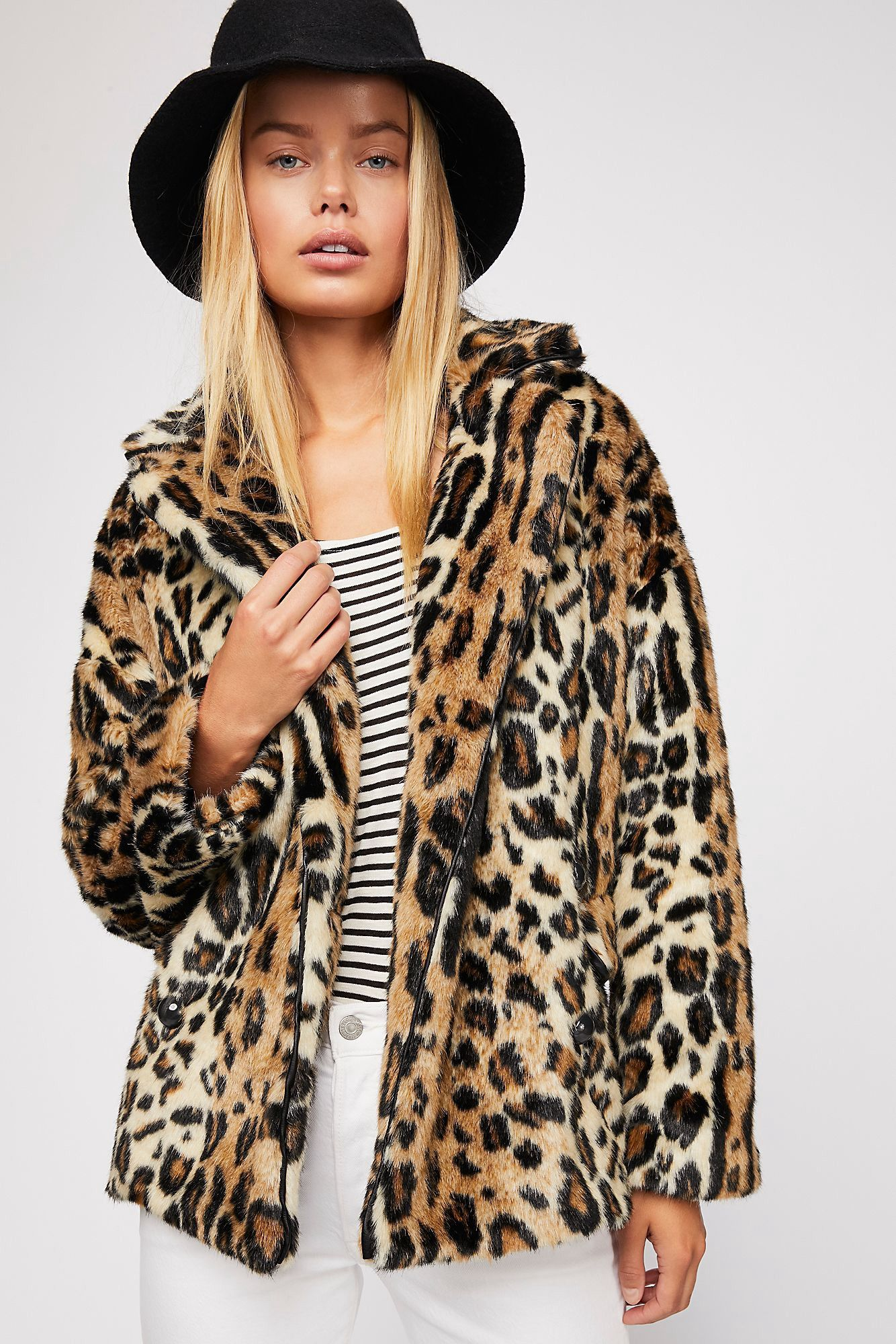 ad9dd9468085 Kate Leopard Coat by Free People in 2019