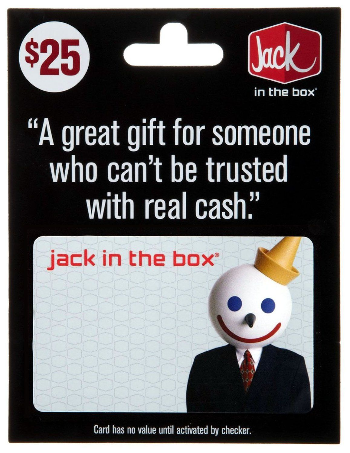 Jack in the box gift card 25 gift cards