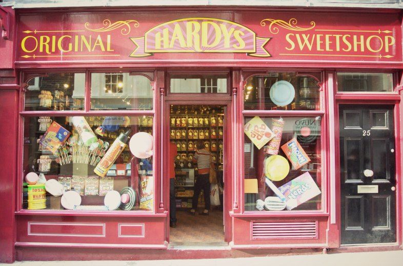 Old Fashioned Sweet Shop Covent Garden