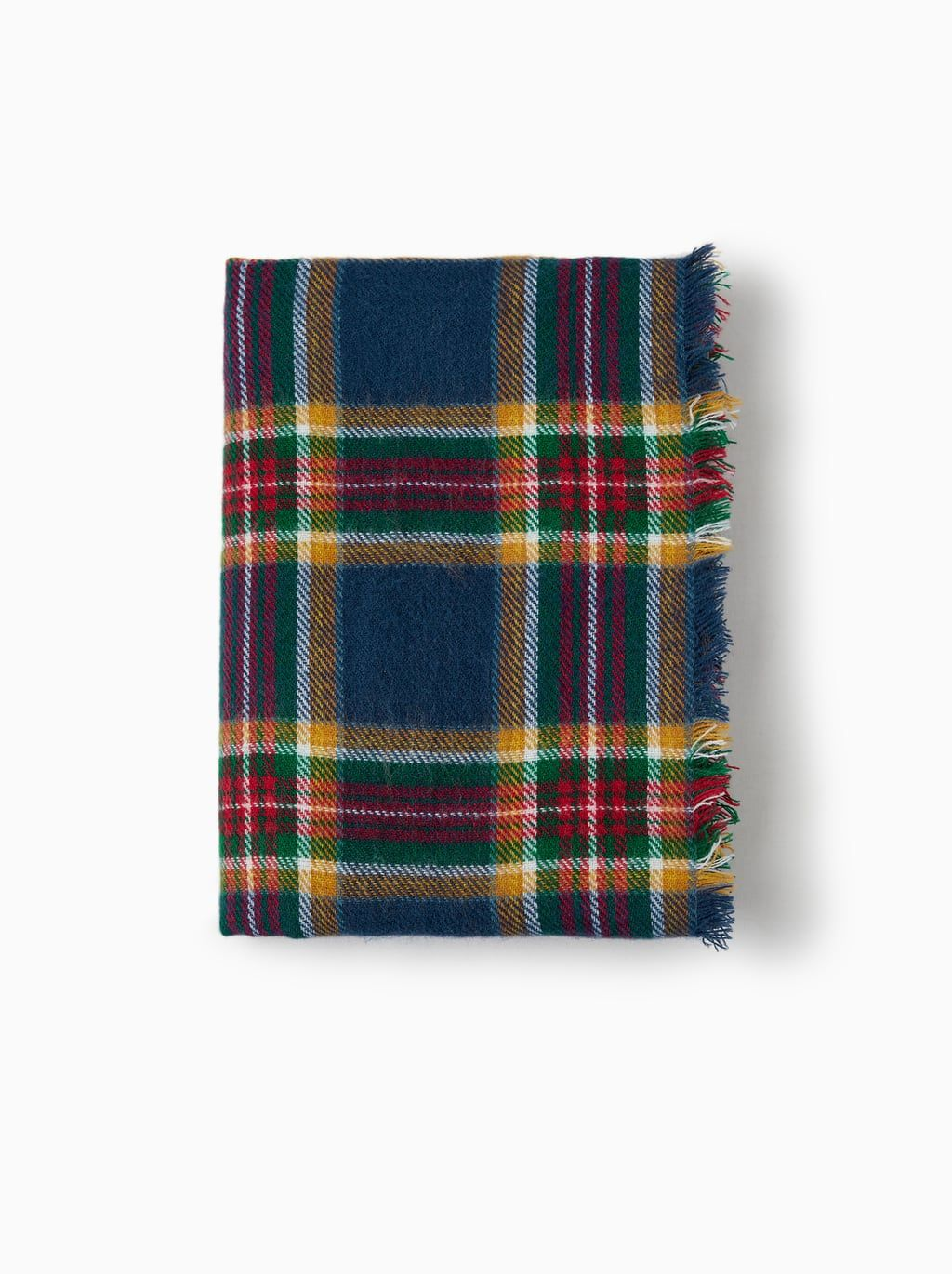 db410eee046c Image 1 of CHECKED SCARF from Zara   Miryea   Pinterest   Plaid ...