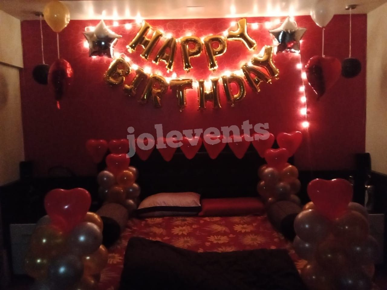 Pin By Jol Events Entertainments On Romantic Room Decoration Pune Birthday Decoration In 2020 Simple Birthday Decorations Birthday Decorations Romantic Room Decoration