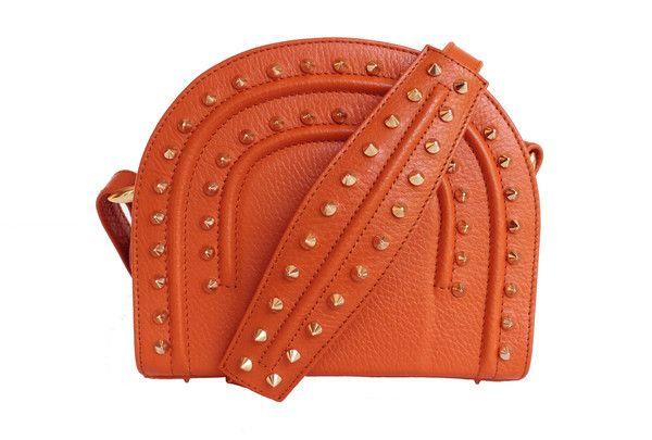 Thalia Orange Crossbody Bag - Farah Asmar - Pursed Boutique  - 1