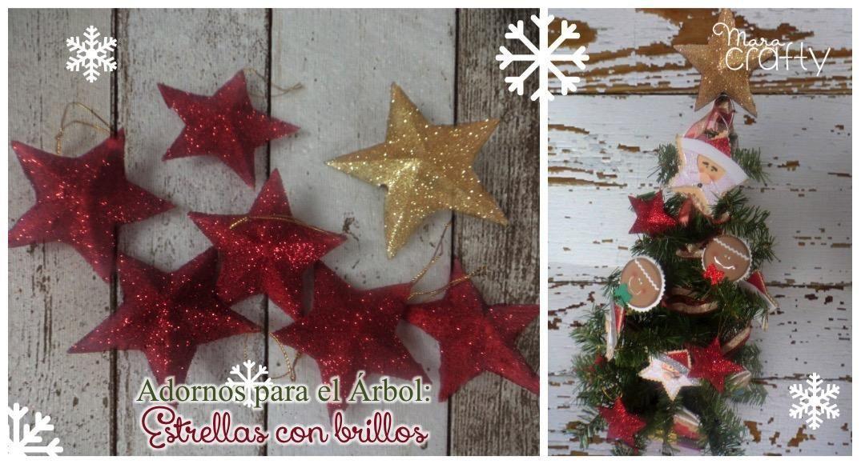 Adornos para el rbol de navidad estrellas brillantes for Adornos navidenos para el arbol