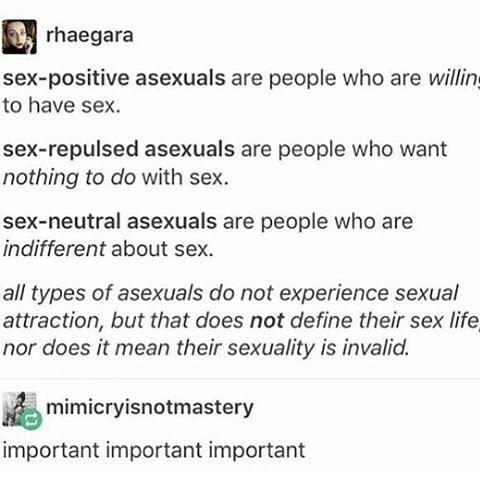 Repulsed and sex