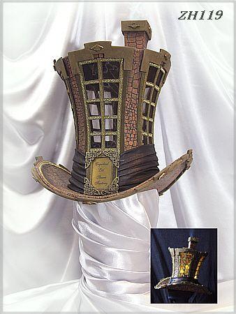 ZH119 Herren-Zylinder men's top hat #crazyhatdayideas
