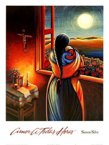 Amor a Todas Horas Art Print, Simon Silva, artist