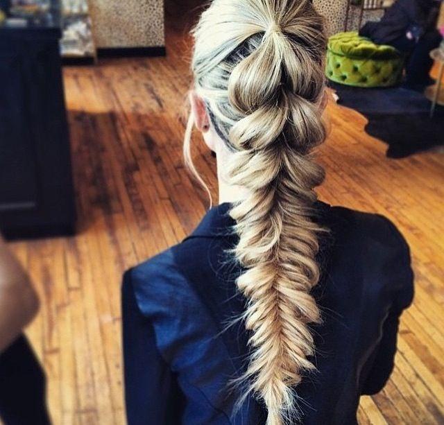 Penteado cabelo preso