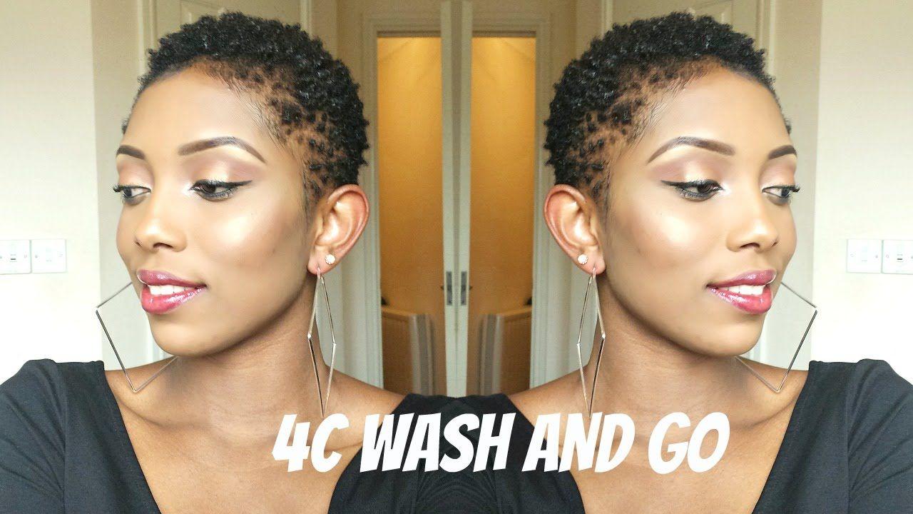 natural hair 4c/twa wash and go routine   my natural hair