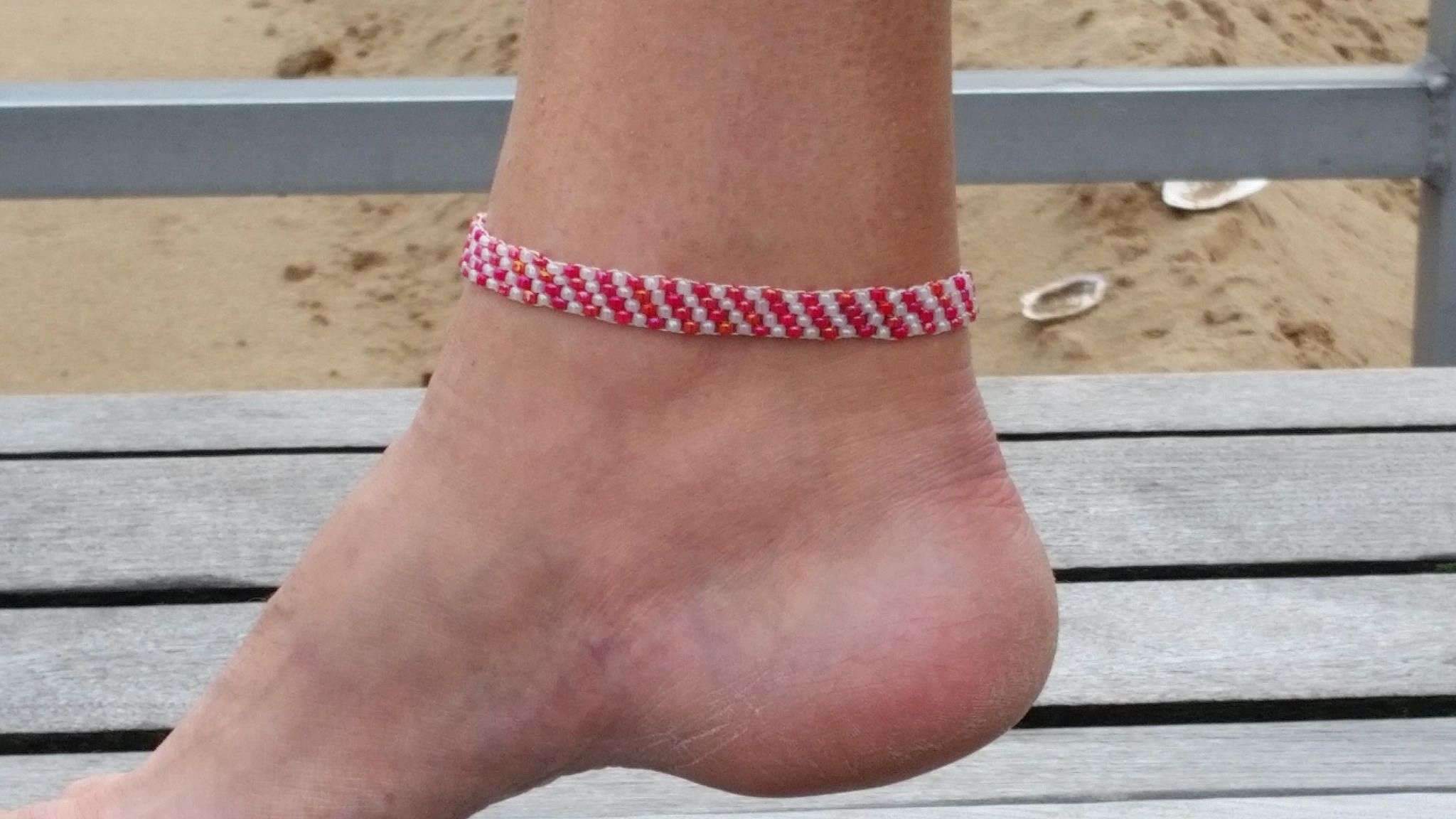 il her anklets ankle beach jewelry opal body dainty bracelet for anklet gold c etsy